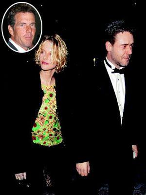 Romantik prenses bunu nası yaptı? Beyazperdenin romantik prensesi Meg Ryan'ın Dennis Quaid ile mutlu bir evliliği vardı. Ta ki, Proff of Life (Yaşam Kanıtı) adlı filmi çevirinceye kadar. Bu filmde birlikte oynadığı Russell Crowe ile aşk dedikodularının çıkması güzel yıldızın imajını da sarstı. Elbete Hollywood'da eşini aldatan ilk kadın o değildi. Ama onun 'sadık eş' imajı diğer yıldızlarınkinden daha baskın olduğu için bu yasak aşk da skandallar tarihine geçti.